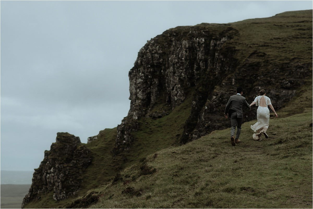 skye couple shot by scottish elopement photographer sean bell