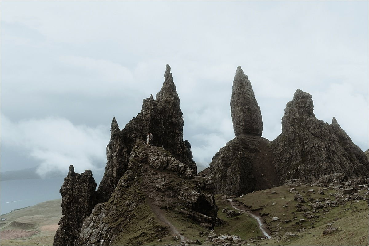 scottish highlands elopement old man of storr