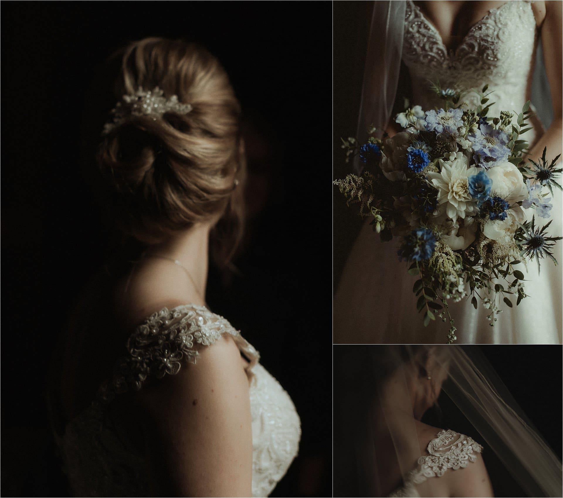 scottish bride flowers