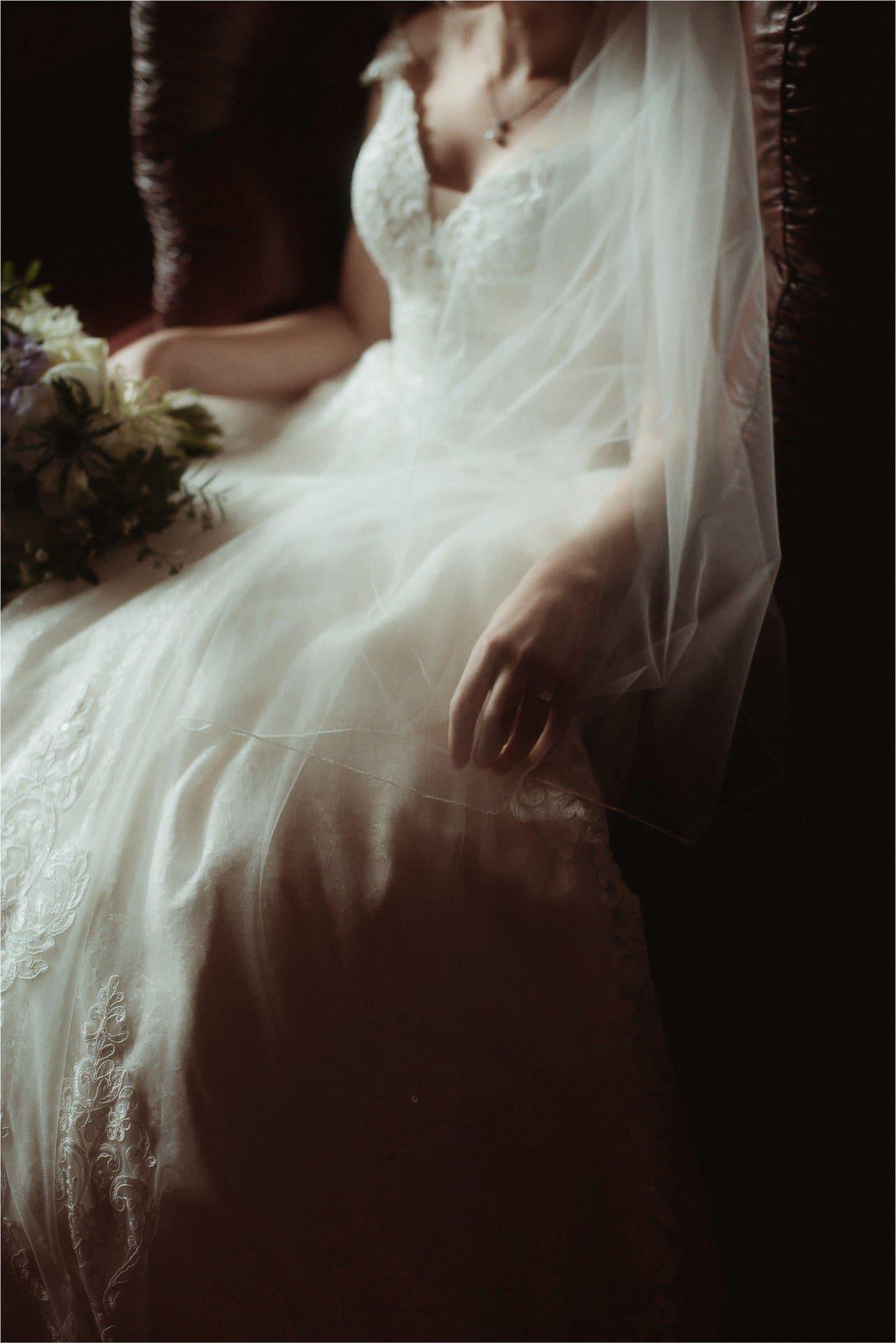 scottish wedding bride
