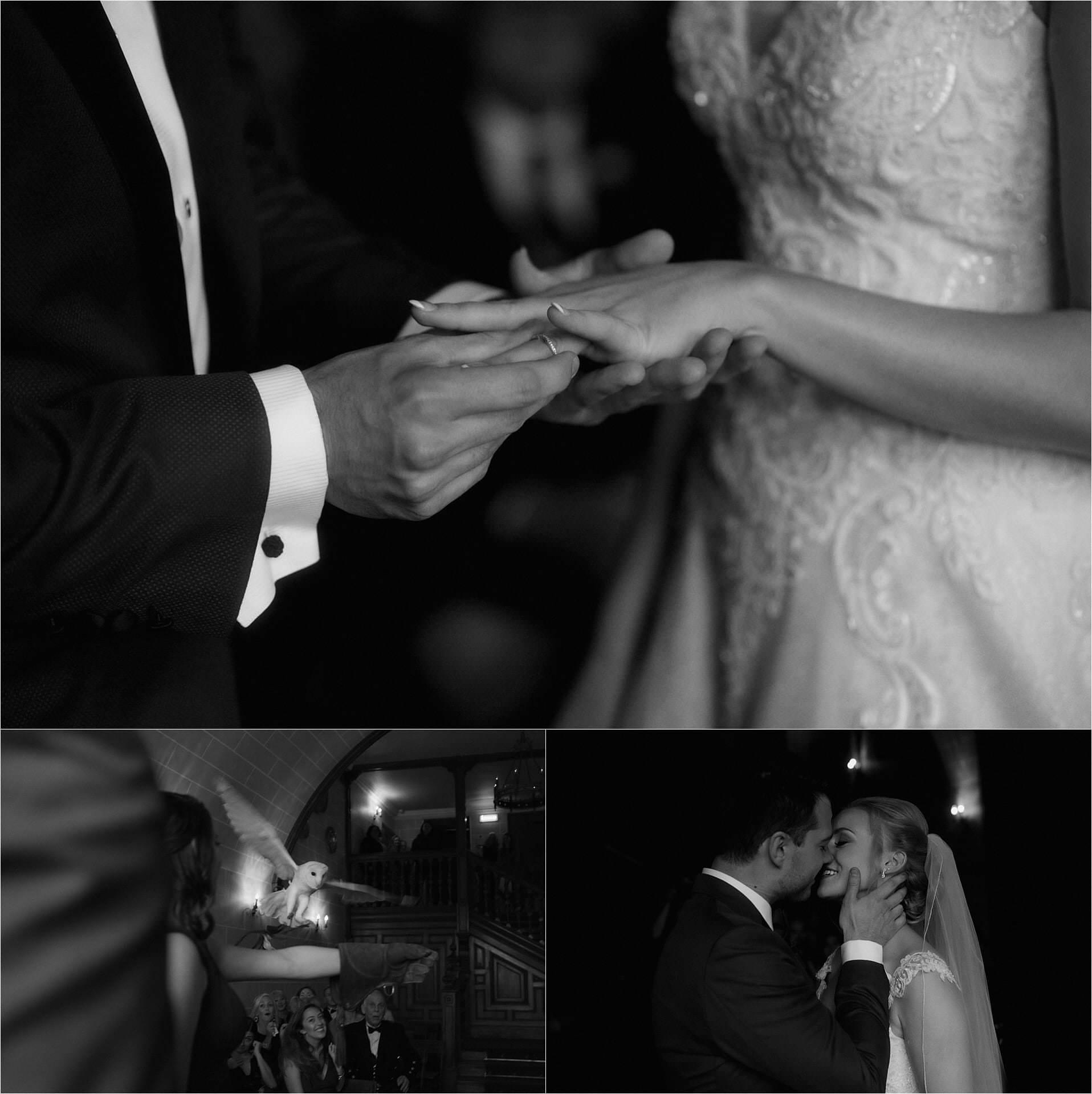 scottish handfasting at a wedding