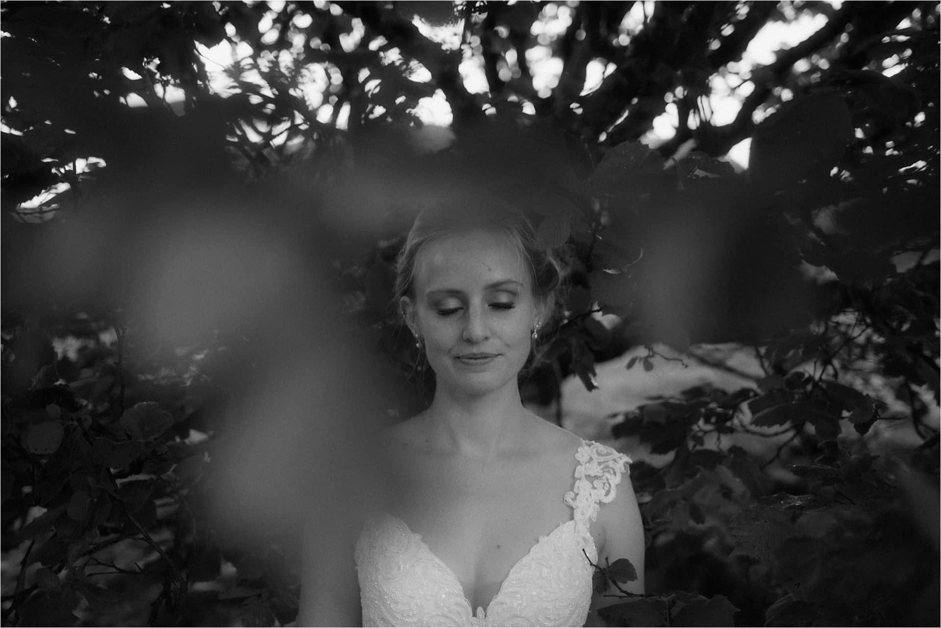 beautiful bride on isle of skye