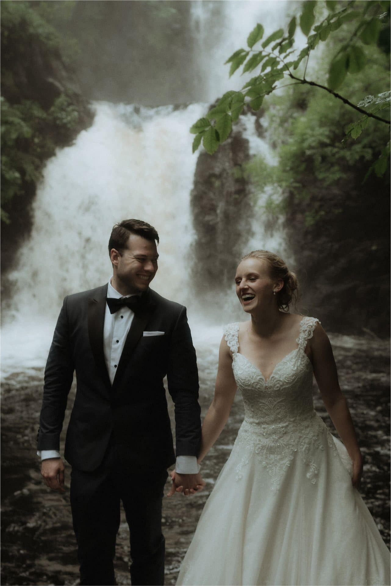 isle of skye wedding at rha falls