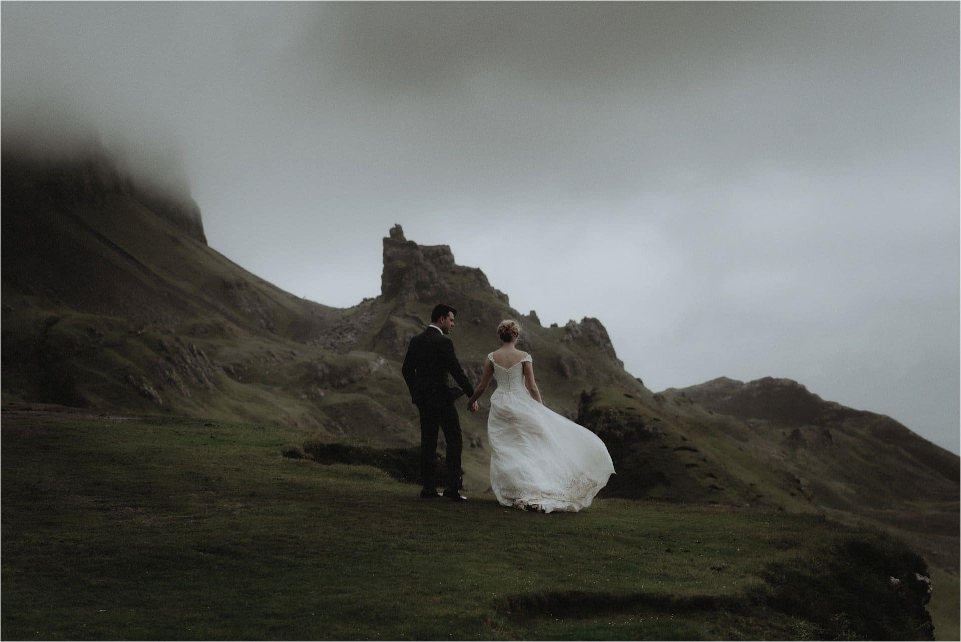 isle of Skye elopement photography at the Quiraing