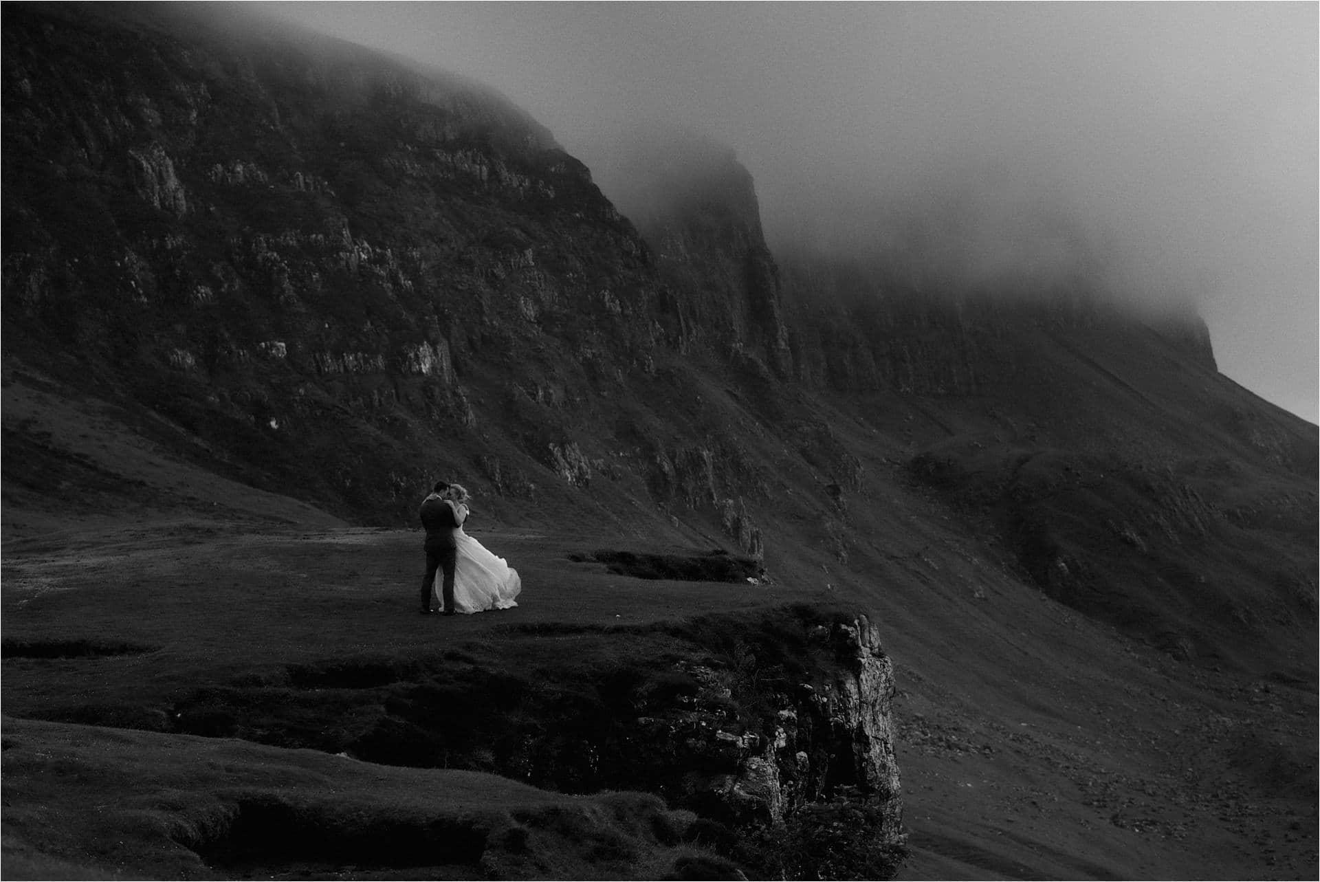 scotland outdoor wedding at isle of skye