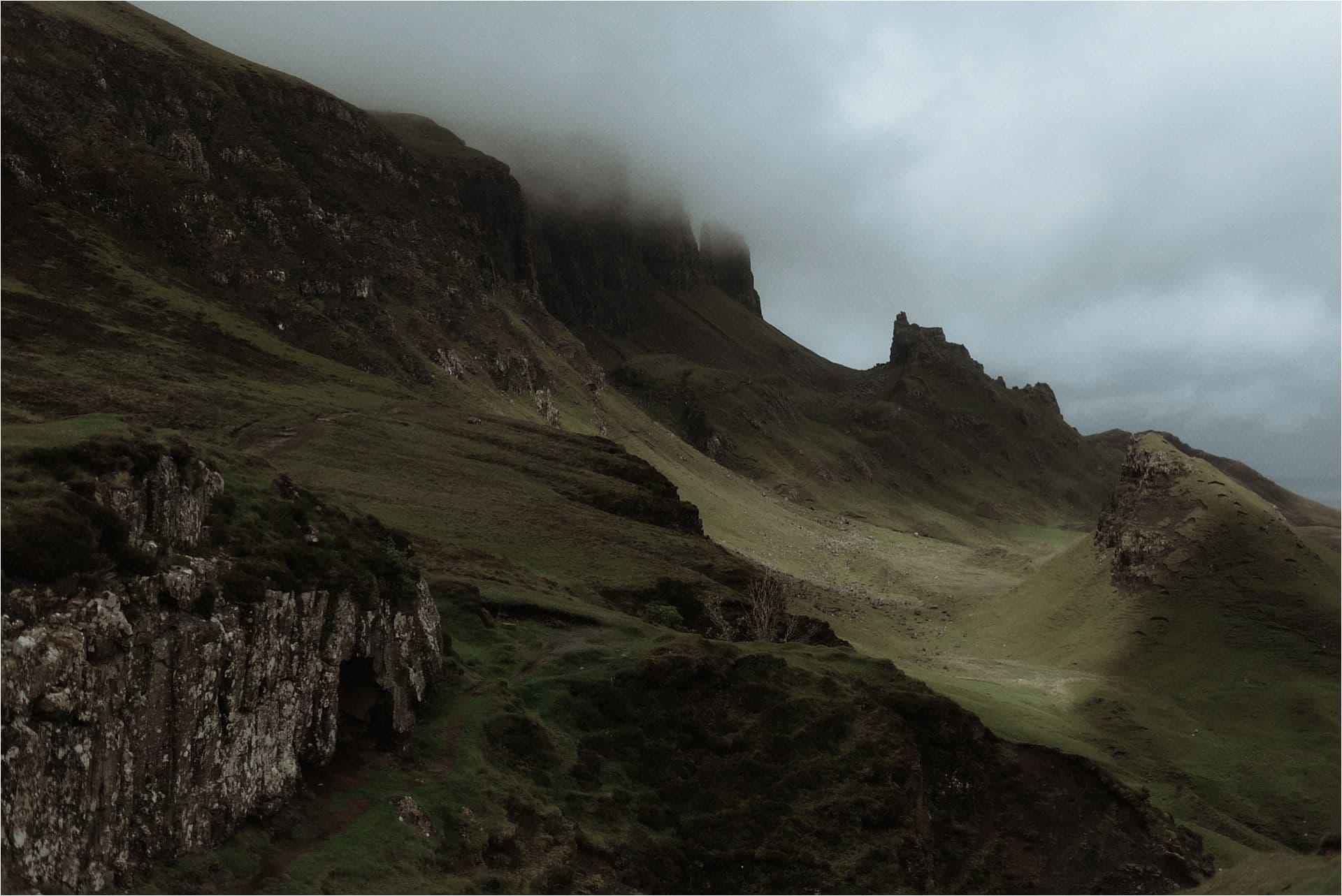 isle of skye landscape elopement