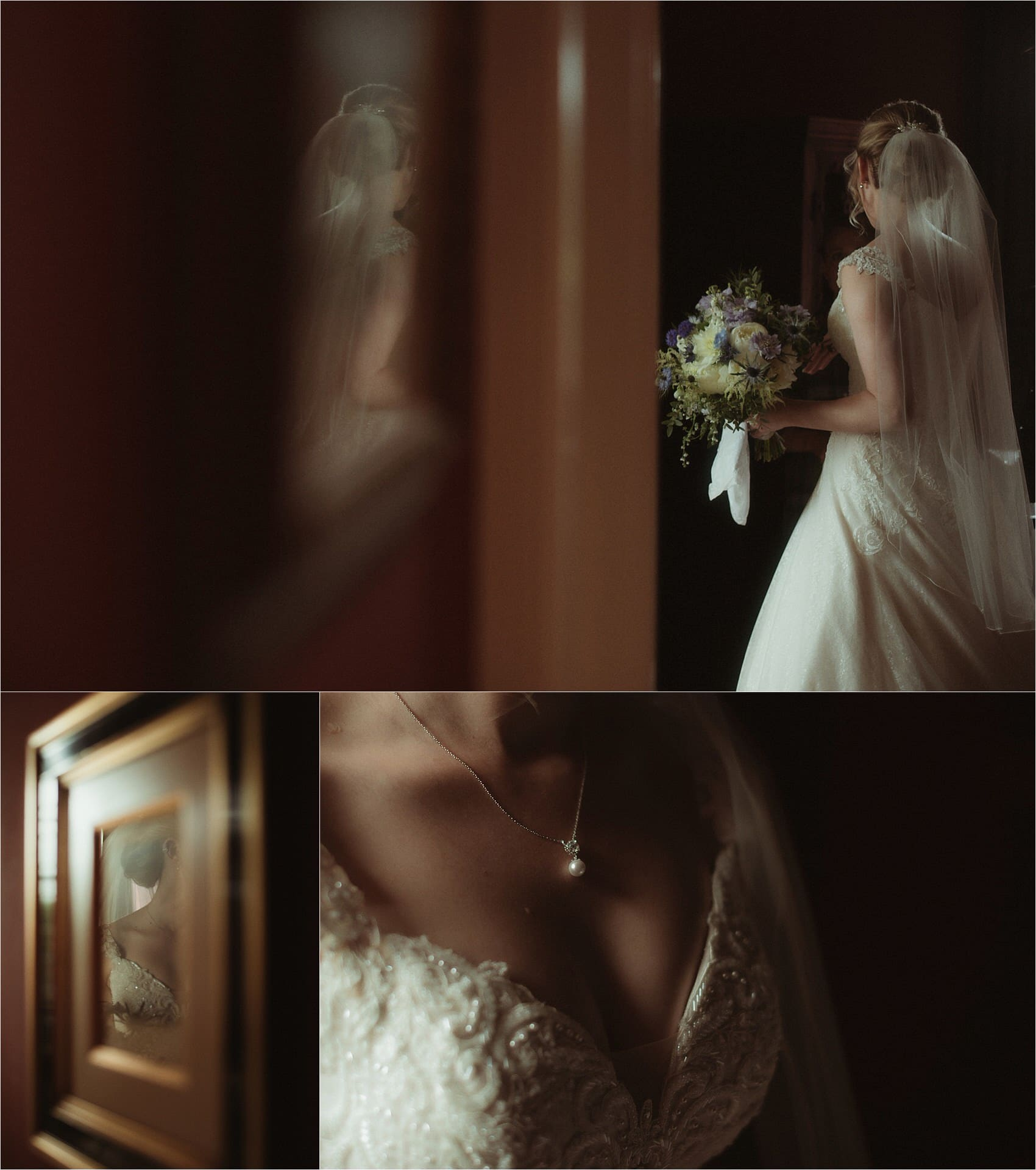scotland wedding bride