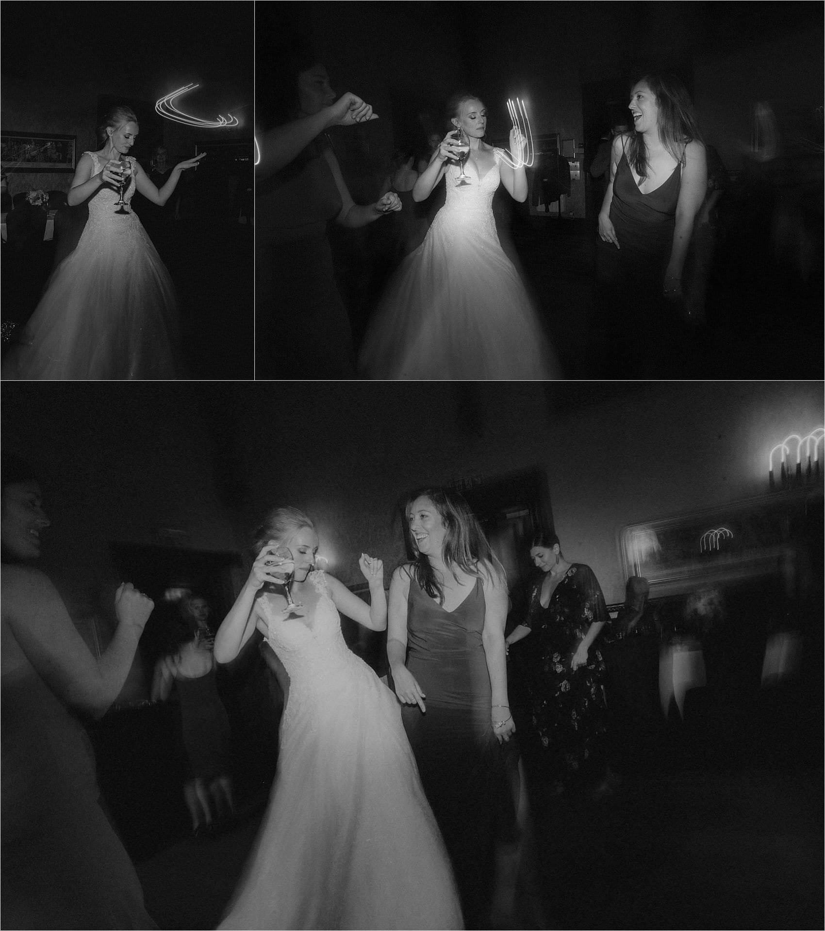 scottish wedding dalhousie castle first dance