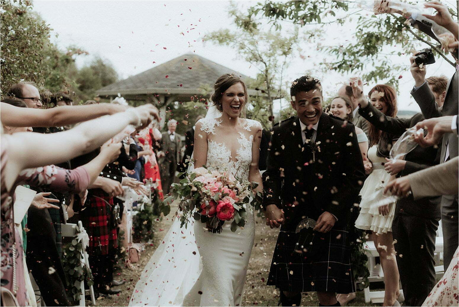 scottish wedding at bachilton barn