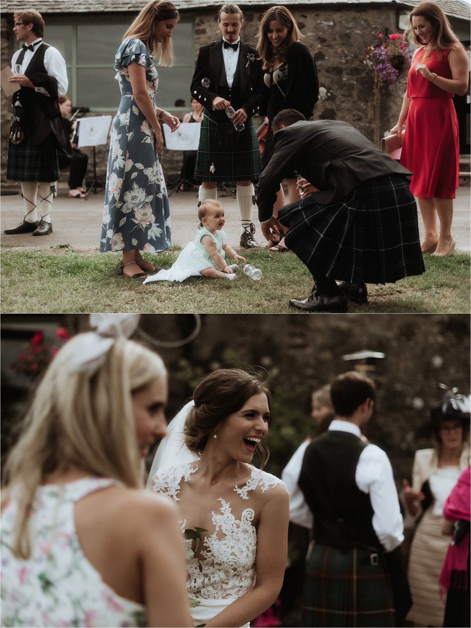 barn wedding in scotland