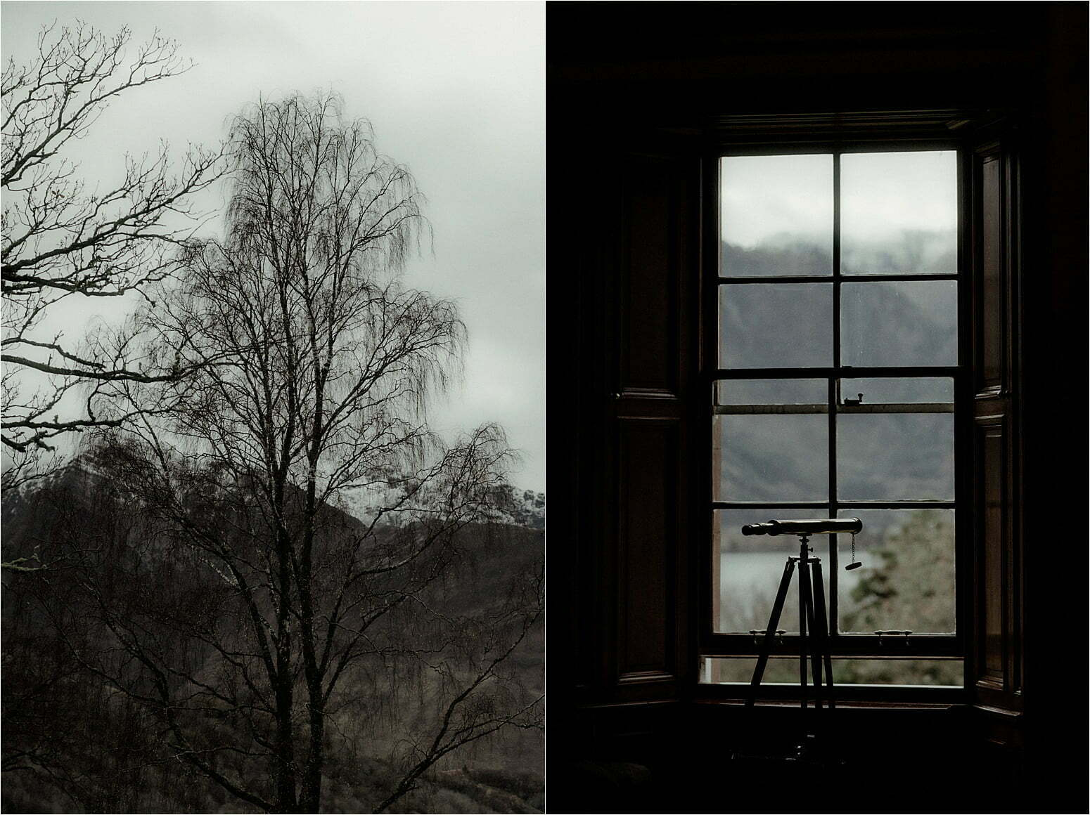 glencoe house view over loch leven