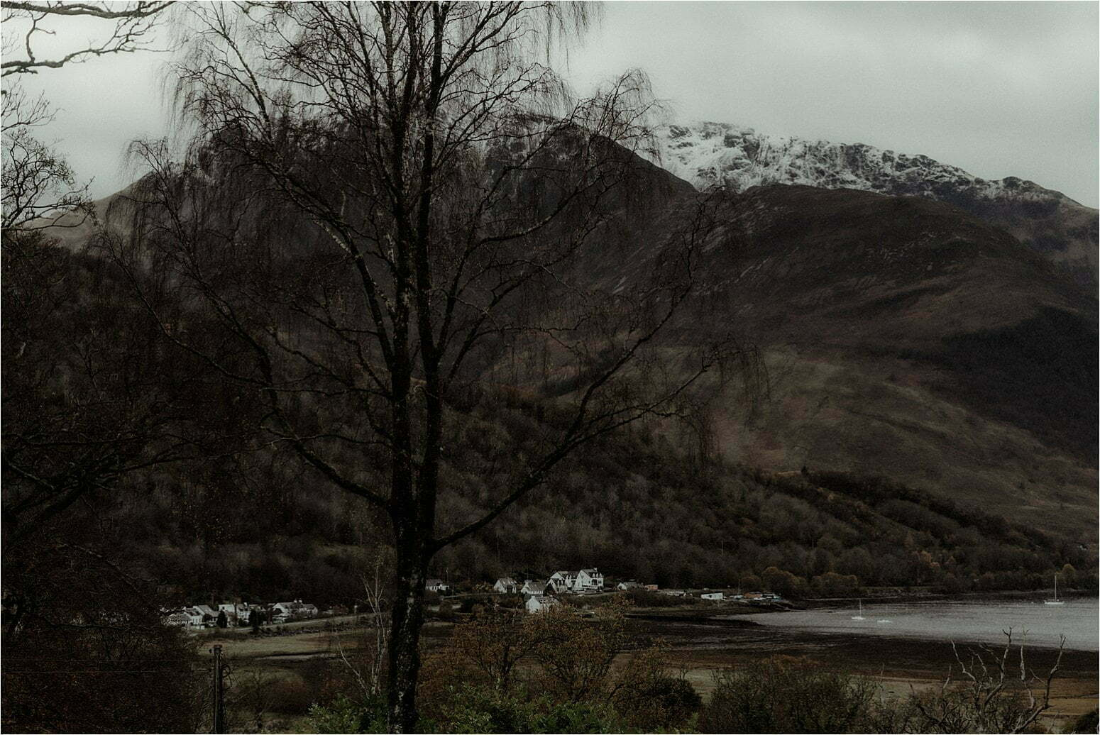 a view to the ballachulish hills