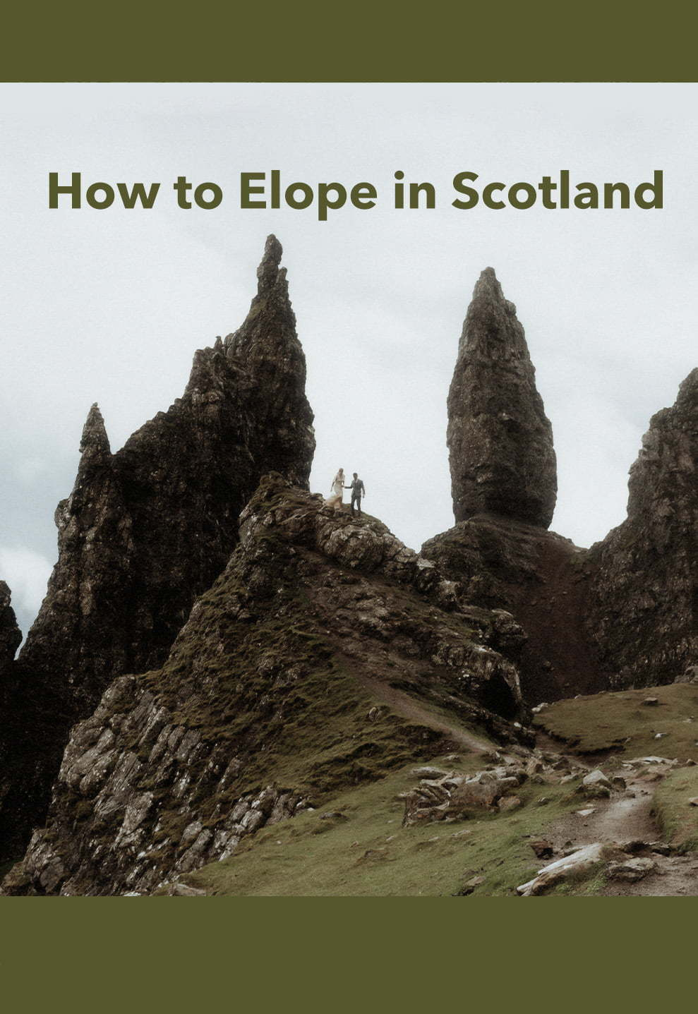 how to elope in scotland guide