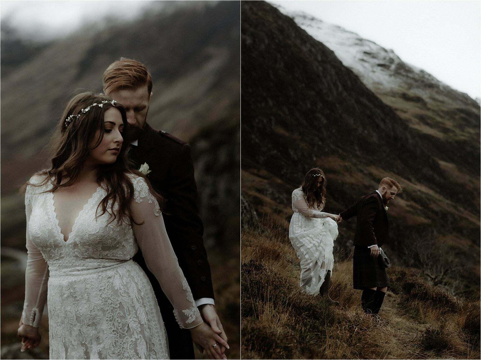 elope in scotland to glencoe
