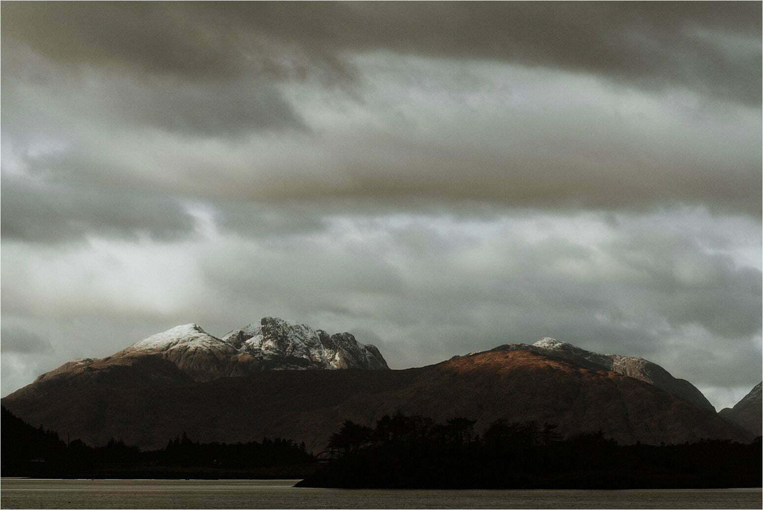 elope in scotland glencoe viewpoint