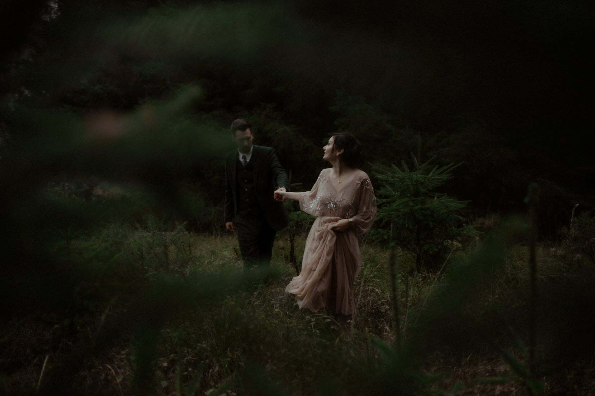 elopement in scotland couple