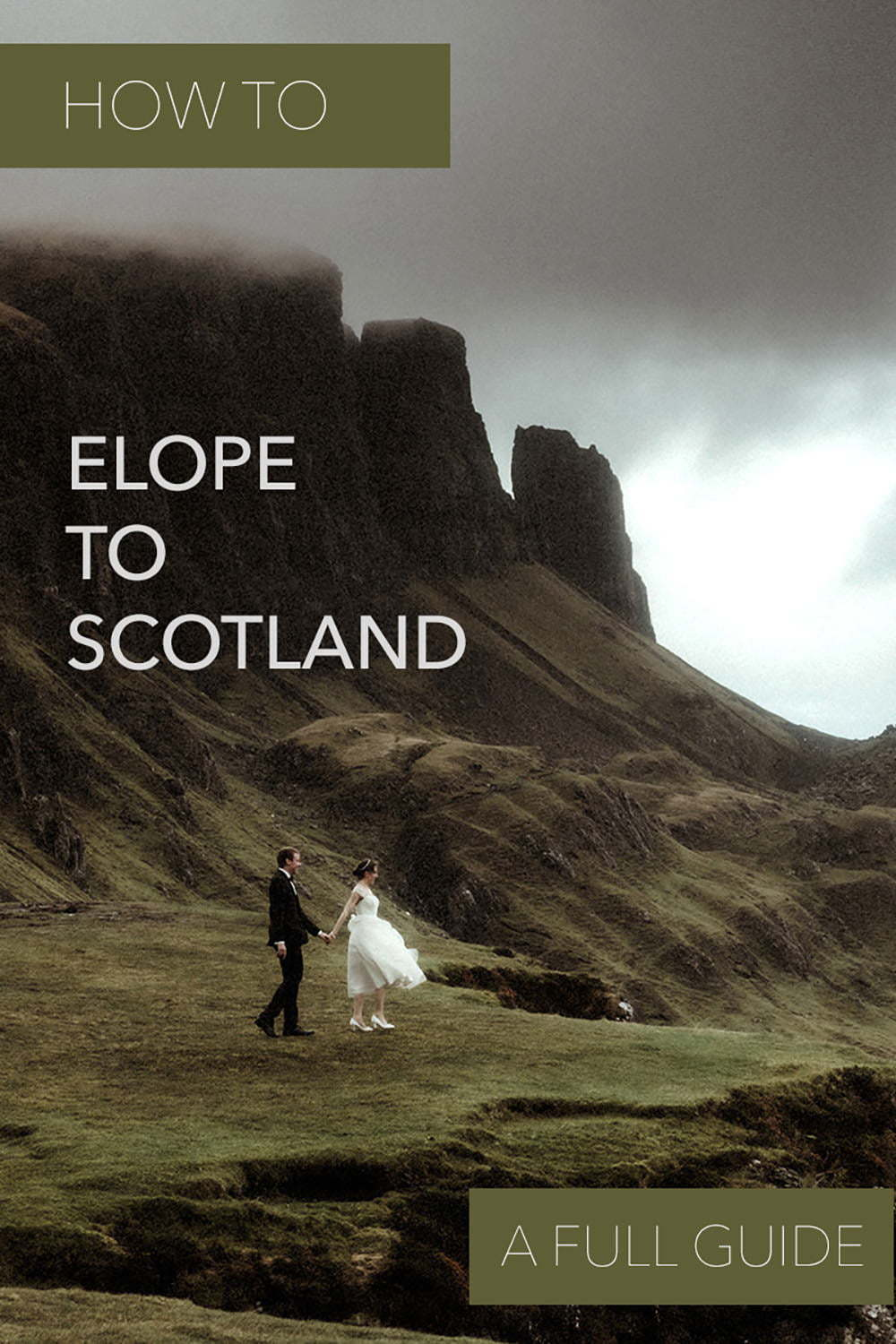scottish elopement planning guide
