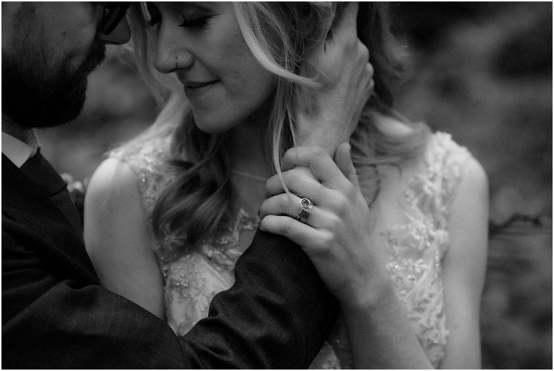 elopement packages Scotland bride and groom