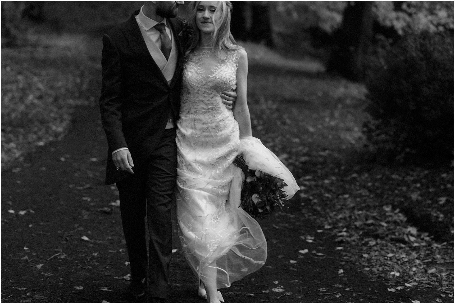 a scottish elopement bride and groom